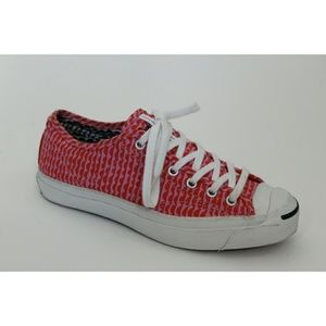 Converse x Marimekko Red Pink Scalloped Canvas